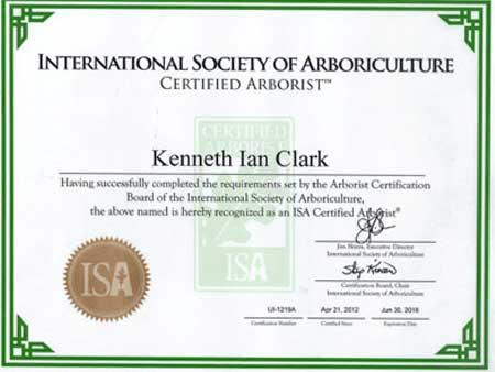 Ian-ISA-Certificate