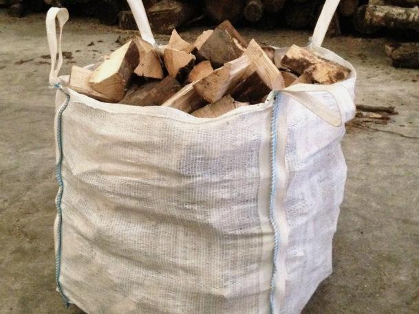 Builders bag of Logs