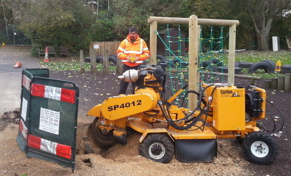 Stump Grinding Leeds